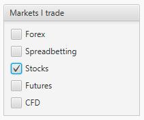 Stocks-trading-journal-markets